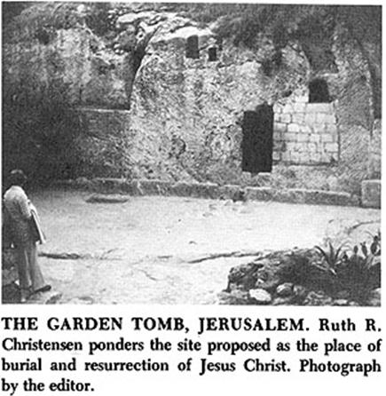 Archaeological Evidences For The Garden Tomb Jerusalem